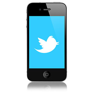 iPhone Twitter